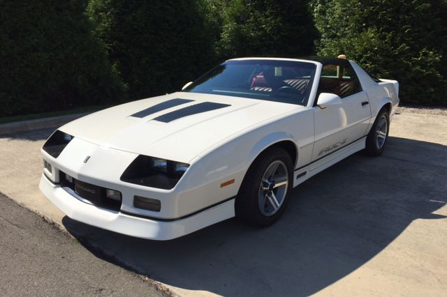 Sold* at Northeast 2017 - Lot #461 1987 CHEVROLET CAMARO IROC Z