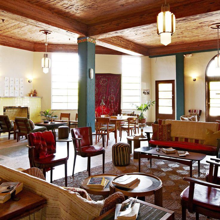 Freehand Miami (Miami Beach, FL | Art deco interior living ...
