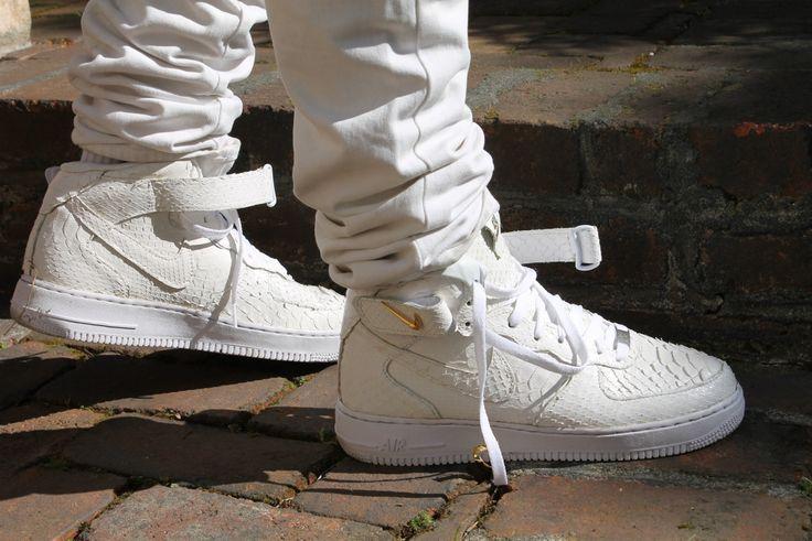 Nike Air Force Croc White
