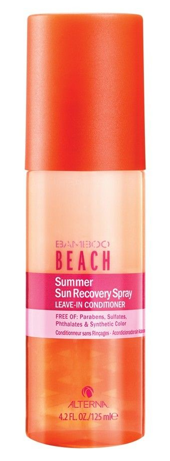 Protect your hair against the sun, pool and saltwater.