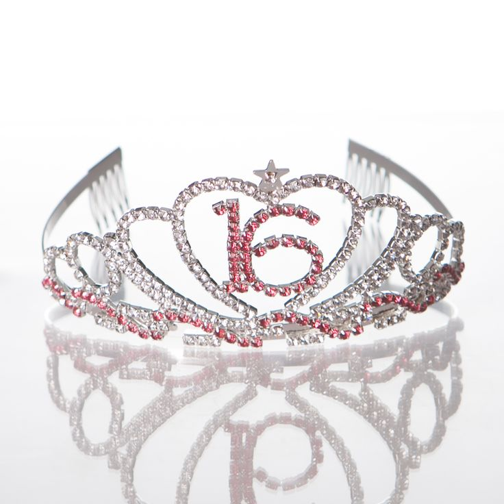 Get the Best for the Big Day: With such a special occasion as Sweet 16, it's worth the splurge. With the crown's real sparkles and the sash's colorful theme, this set will certainly make her feel like