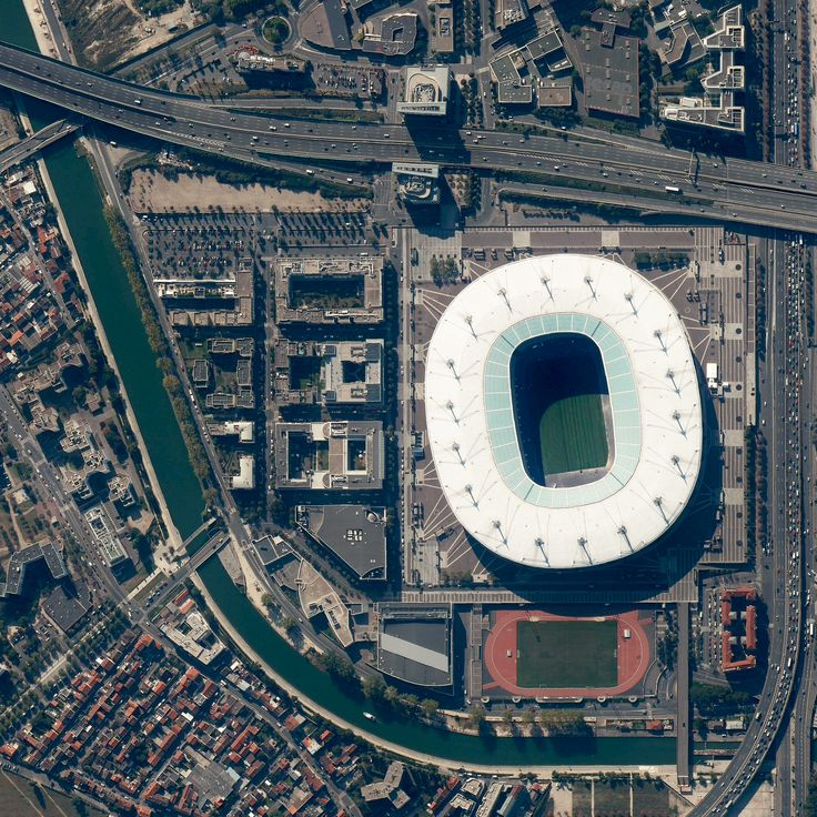 Stade de France Saint Denis, France  Stade de France, le plus grand stade du pays, qui a une capacité de 81 338 places.