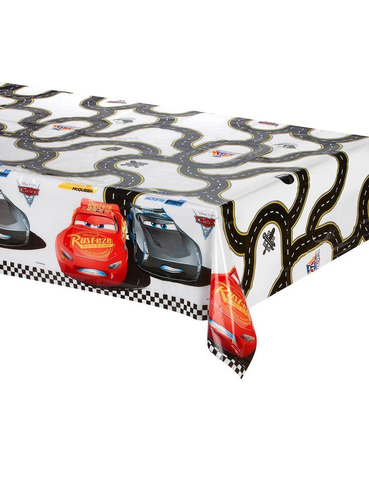 Tovaglia di plastica Cars 3™ su VegaooParty, negozio di articoli per feste. Scopri il maggior catalogo di addobbi e decorazioni per feste del web,  sempre al miglior prezzo!