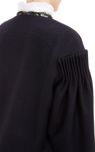Dries Van Noten Pleated-Sleeve Jacket at Barneys.com