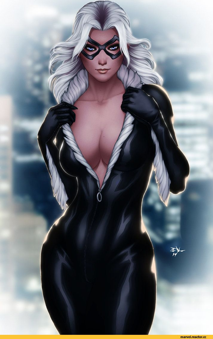 Черная кошка из марвел картинки