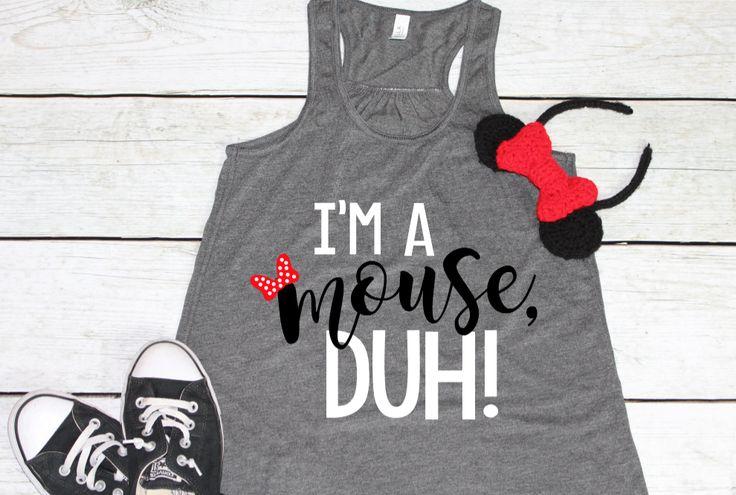 PRE-ORDER SHIP DATE 10/30 -  I'm a Mouse Duh - Disney Mean Girls Shirt