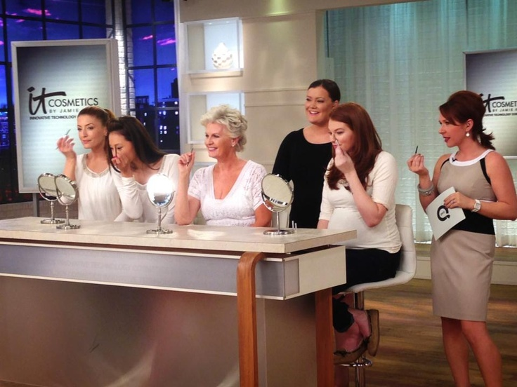Your Brows But Better! The gorgeous QVC Models testing out the Brow Power Skinny!