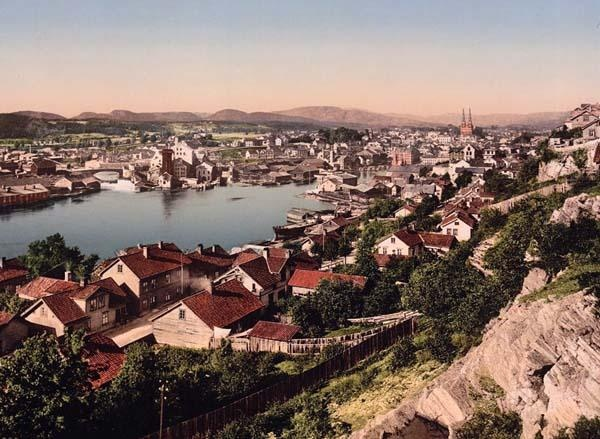 Skien Norway. I still have family there.