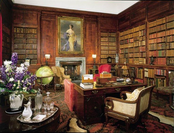 Dunrobin Castle Sir Robert Lorimer S Sycamore Library