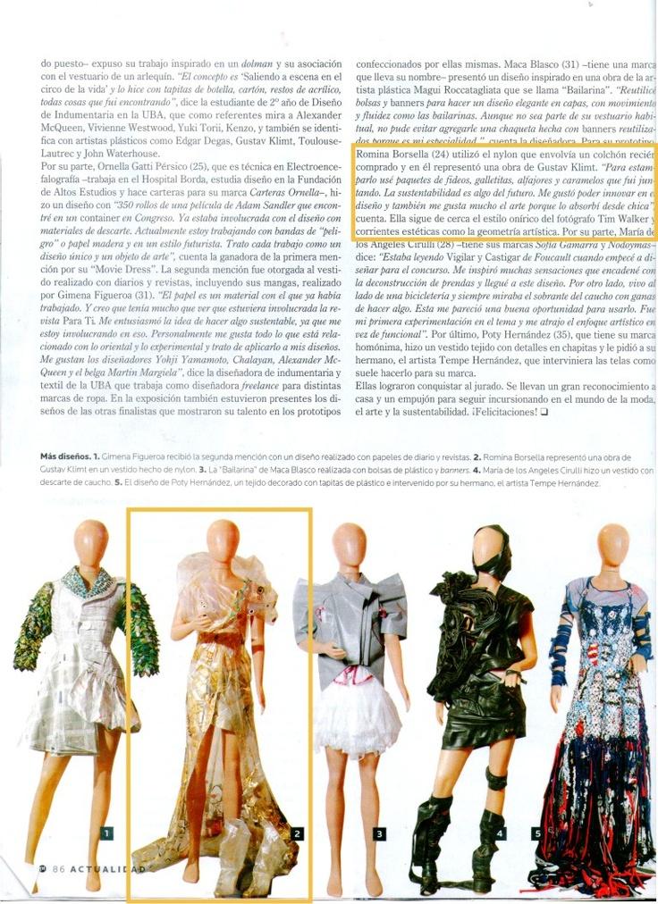 """Prensa 2  """"El traje condenado a vivir."""""""