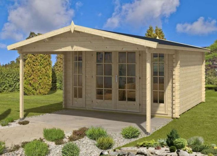 Alpholz Gartenhaus Mirko Modern A Modernes ferienhaus