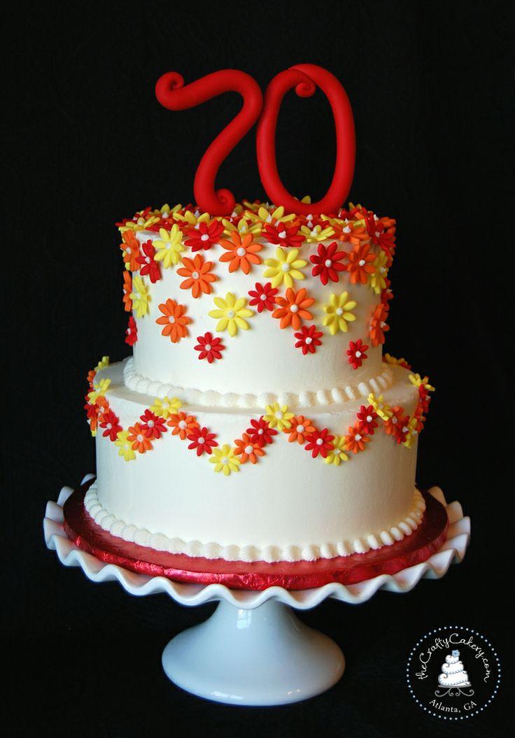 Mom S Th Birthday Cake Frosting Design