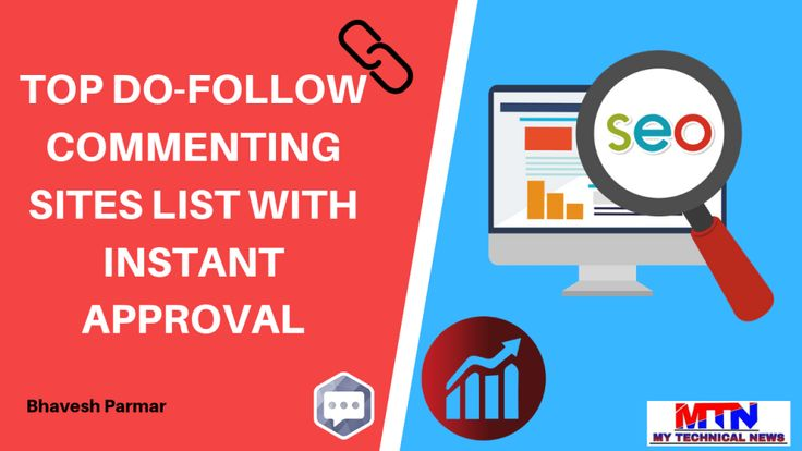 Dofollow Instant Approval Blog Commenting Sites List