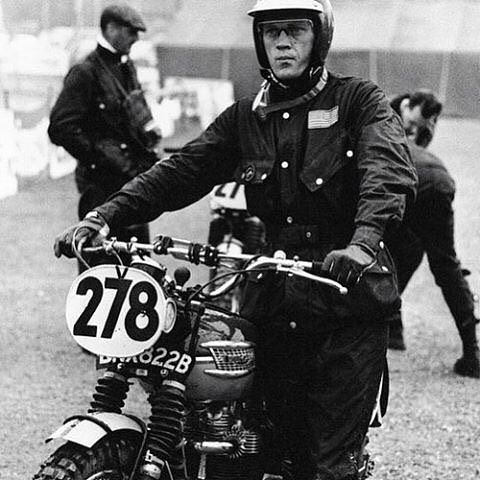 steve mcqueen_ _ @barbourinternational  _ #barbour #barbourinternational #triumph #motoguzzi #seoul #scrambler #deusexmachina #dextonhelmet #500tx #motorcycle #fashion #style #mensfashion #mensstyle #vespa #dexton #dextoncompany #legend : @dextoncompany  Tag your pics and videos with @wheelsguru  to be featured.   Follow #wheelsguru @shahnawazkarim  Check our page: http://ift.tt/2c7NjU3 click the link in the bio  wheelsguru.com