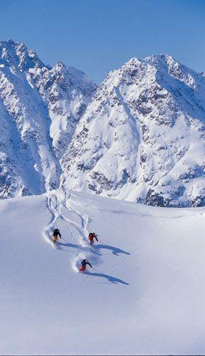 Ischgl... Austrian Alps. Save me some powder