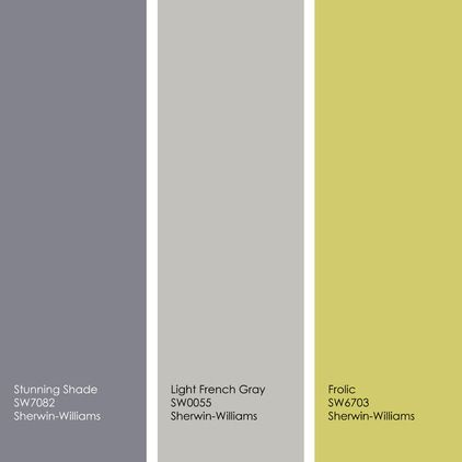Example palette from left to right all from sherwin for Light gray color swatch