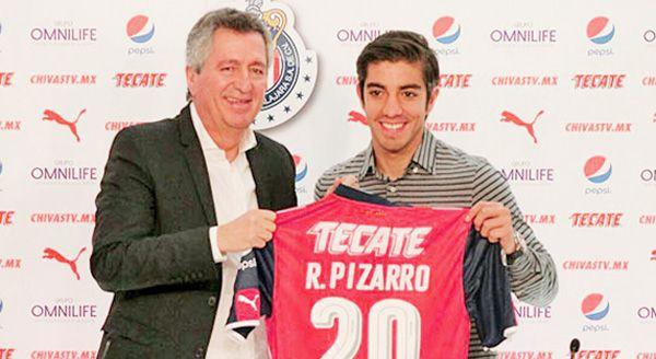 Vengo al mejor club de México: Rodolfo Pizarro