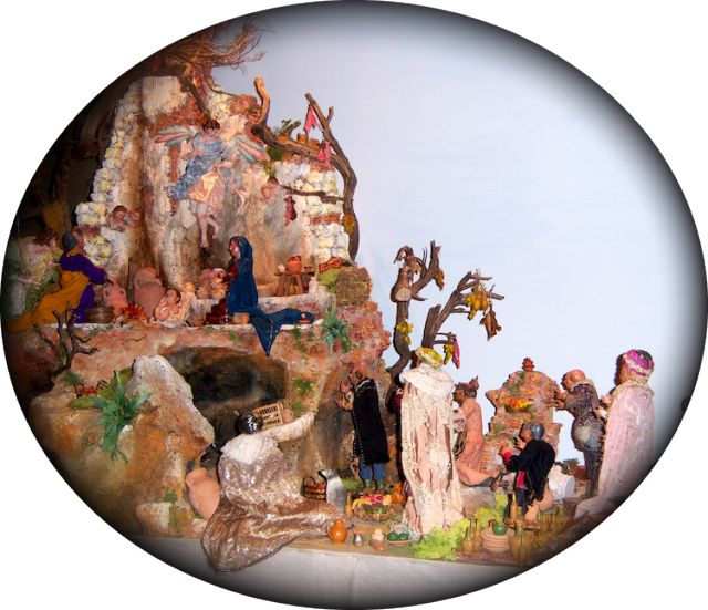 What Does Epiphany Mean to Catholics?: A preseppe (Nativity scene) featuring the Three Kings in a church in Rome, Italy, in January 2008.