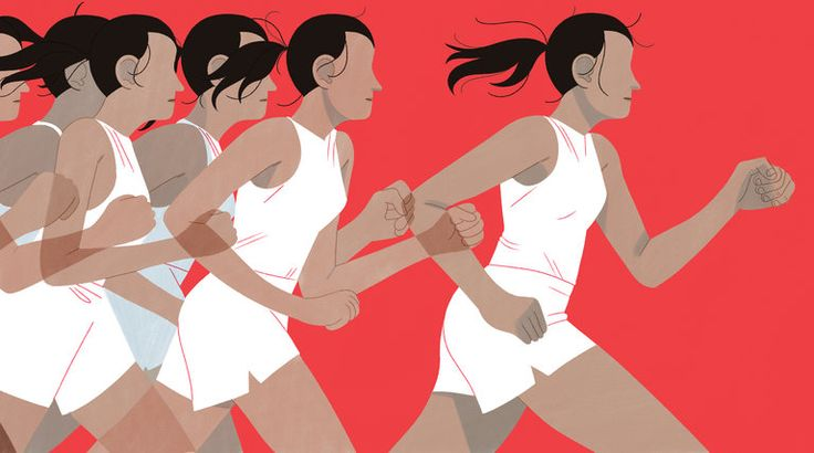 Women Do Like to Compete — Against Themselves - The New York Times
