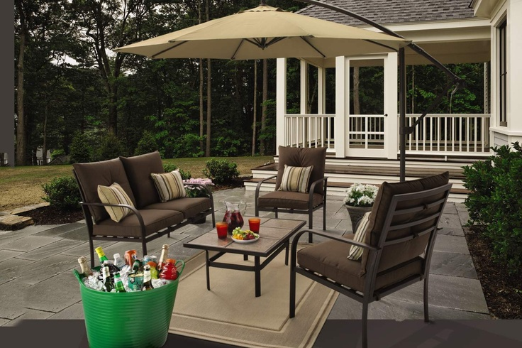 Gardenline 4 Piece Conversation Set From Aldi Outdoor