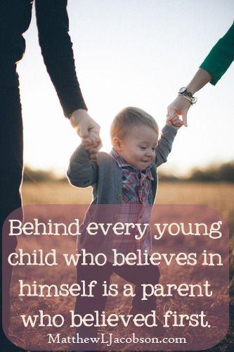 A parent's words have power.  MatthewLJacobson.com