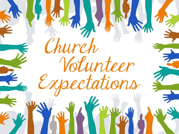 volunteer at church