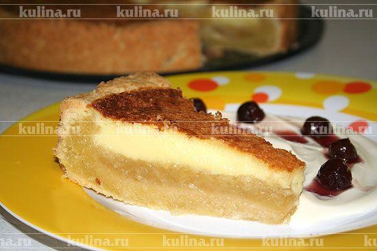 """Торт """"Пышка"""" с яблочным пюре - рецепт с фото"""