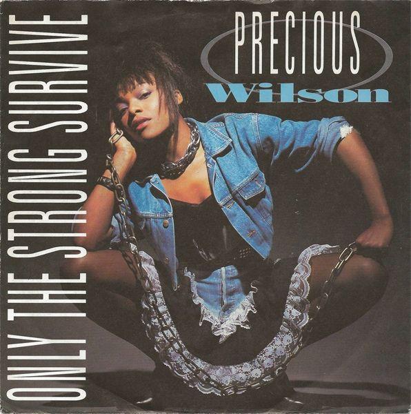 """Precious Wilson - Only The Strong Survive [Club Version] 1987 €URO 80's """"La Radio del Ítalo Disco © 2011 - 2016 euro80s.net"""