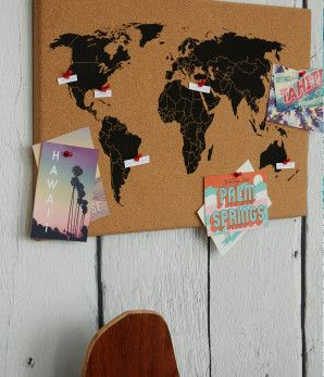 22 best cork world images on pinterest world maps worldmap and maps world map cork board gumiabroncs Gallery