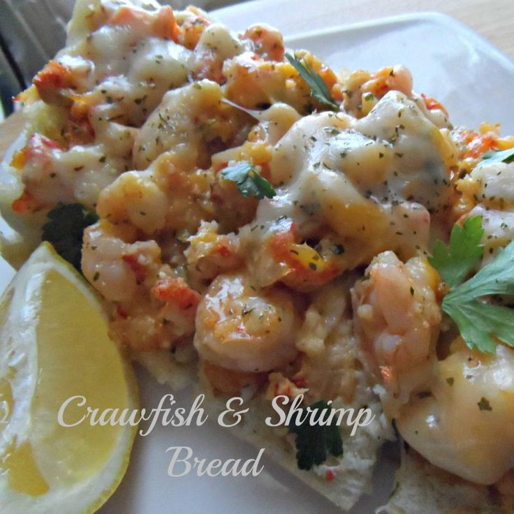 A New Orleans Jazz Fest favorite with added Shrimp! This Crawfish and Shrimp Bread is a cheese lover's delight! Recipe is quick and easy!