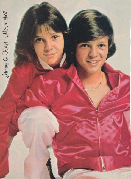 Bro & Sis...Jimmy & Kristy McNichol...all over some 70s tv shows.  I had a crush on him. Lol