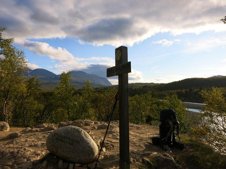 Kungsleden (King's Trail). Meditationsplats.