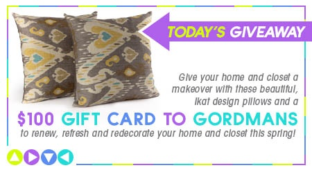 PIN IT TO WIN IT - Our Grand Prize!  https://www.facebook.com/gordmans/app_145553238947531  Would love to win from gordmans love their style and prices!
