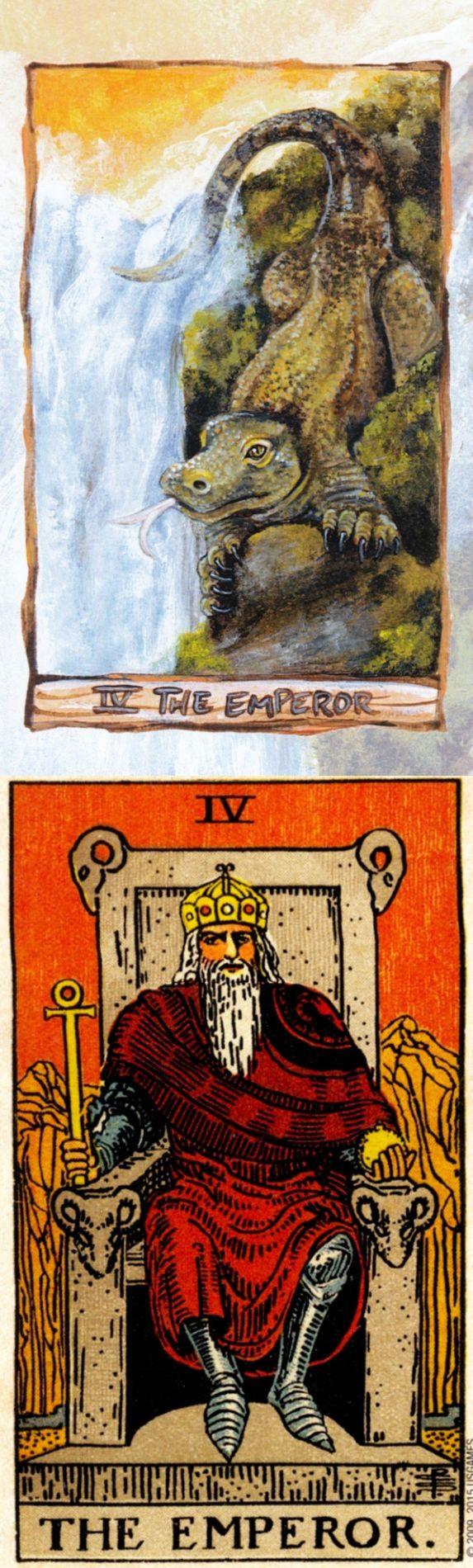 THE EMPEROR: father figure and too much control (reverse). Animisim Tarot deck and Rider Centenial Tarot deck: tarod card, tarot card reading wiki and online tarot deck. The best oracles of fire bryan davis and wiccan tattoos. #thestar #halloween #chariot #skeleton #tarotapp #tarotspread