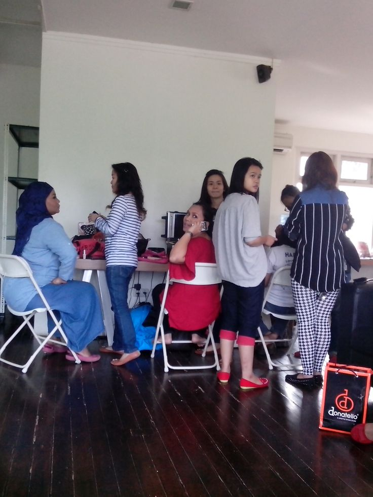 Make over by Oriflame sebelum difoto