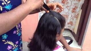 How to do simple party hairstyle