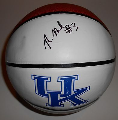 Nerlens Noel Signed Kentucky Wildcats Basketball w/COA 2013 NBA Draft #1 Pick A