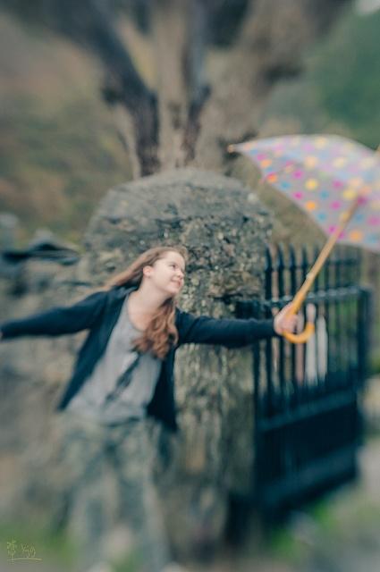 My Mirra playing in the rain