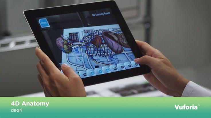 Anatomia 4D in Realtà Aumentata.   http://virtualmentis.altervista.org/