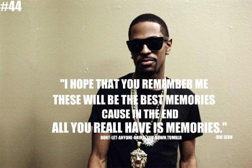 Quotes From Big Sean. QuotesGram