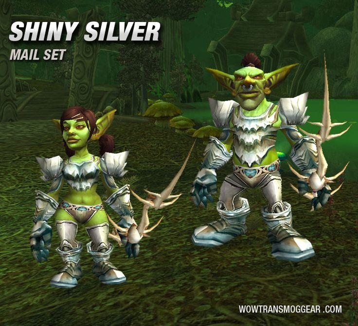 Shiny Silver Mail Transmog Set Goblin