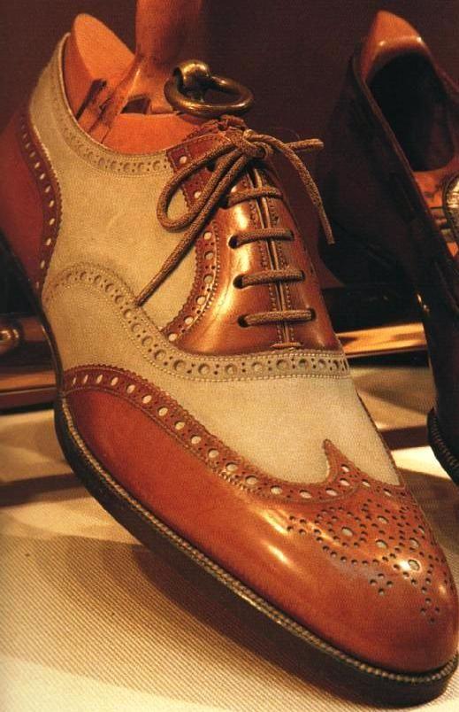 Historia de la Moda y los Tejidos: Moda Masculina: Los zapatos Spectators