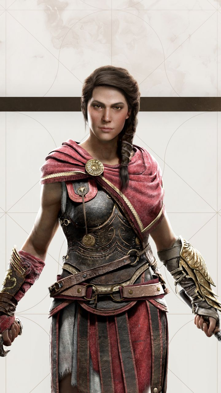 Download 720x1280 Kassandra Assassin S Creed Odyssey E3 2018