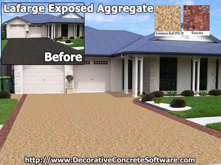 Lafarge Holcim Concrete Contractors have Success closing the deal when they design with Decorative Concrete Software.