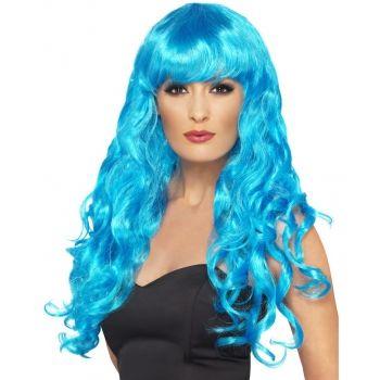 Blauwe dames krullen pruik bestellen bij het voordeligste warenhuis online. Blauwe dames krullen pruik zeer voordelig en snelle levering. Blauwe Toppers