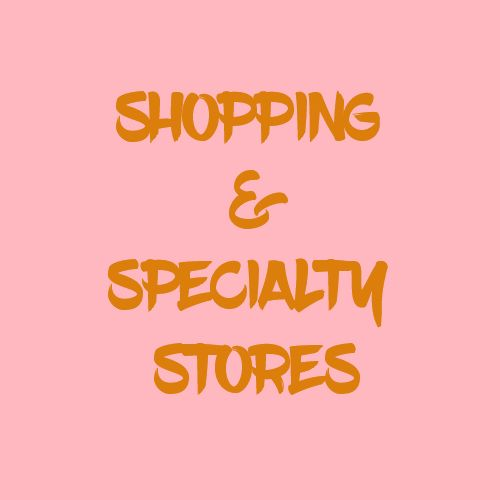 Shopping & Specialty Stores Category #richmondhillbusinessdirectory