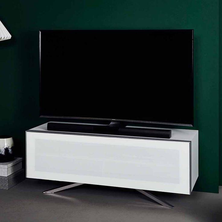 TV Tisch mit schalldurchlässiger Klappe Weiß Jetzt bestellen unter: https://moebel.ladendirekt.de/wohnzimmer/tv-hifi-moebel/tv-lowboards/?uid=2df109bd-0d99-53e0-a190-3c202162eb93&utm_source=pinterest&utm_medium=pin&utm_campaign=boards #fernsehboard #fernsehmöbel #rack #phonoschrank #tvboard #phon #fernsehunterschrank #tische #tvhifimoebel #lowboard #fernsehtisch #unterschrank #möbel #phonomöbel #bank #fernseher #tvtische #sideboard #tvlowboards #wohnzimmer #kommode #board Bild Quelle…