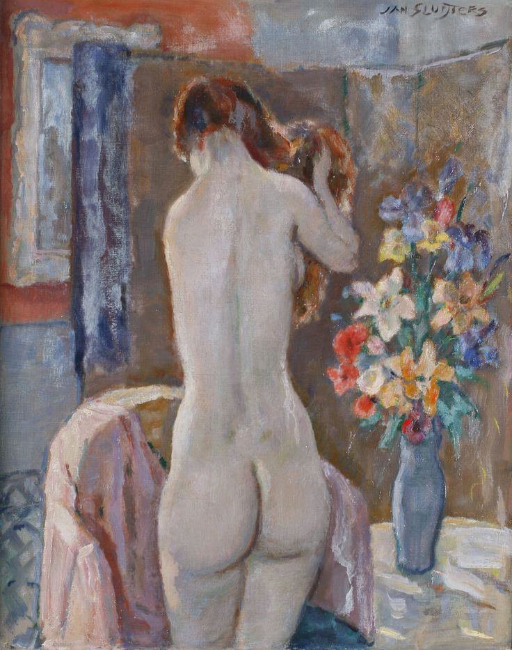Standing Nude from Behind, Jan Sluijters,  was a Dutch painter. Sluijters was a leading pioneer of various post-impressionist movements in the Netherlands.