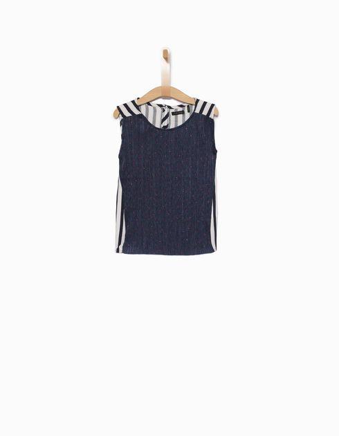 Girls' blue vest top