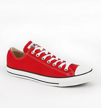 Red Converse #shoes #red #converse #sneakers